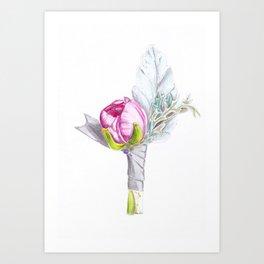 Boutonniere Art Print