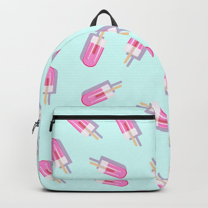 Pink Popsicles Pattern Backpack