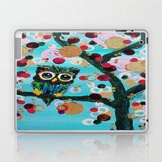 :: Gemmy Owl Loves Jewel Trees :: Laptop & iPad Skin