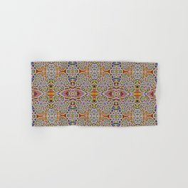 Rites of Spring Ornate Pattern Hand & Bath Towel