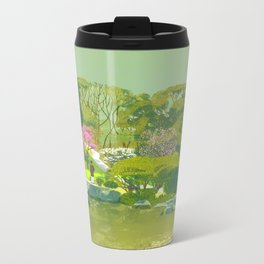 Ume Blossoms Metal Travel Mug