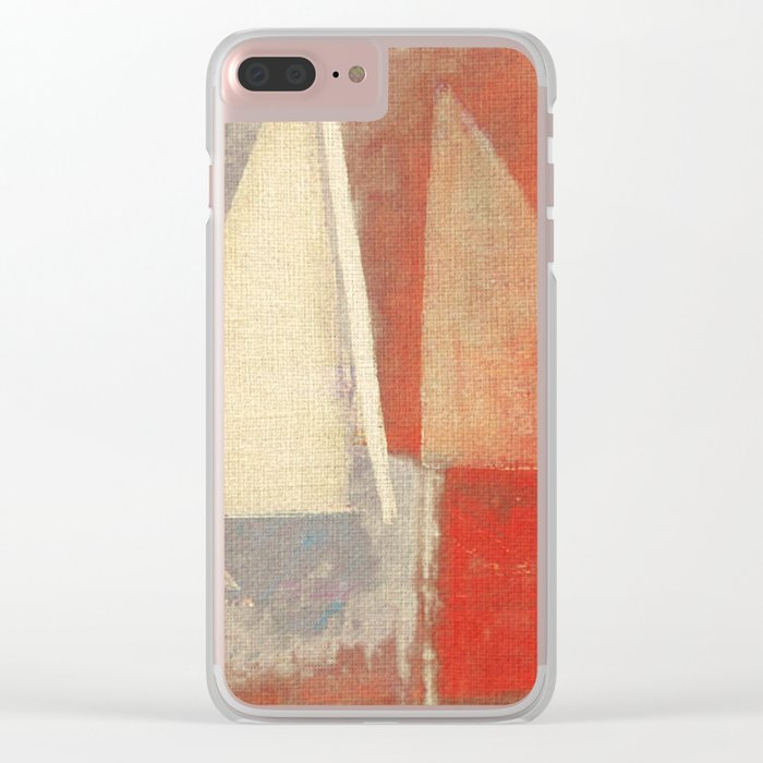 Battle of Sails Clear iPhone Case