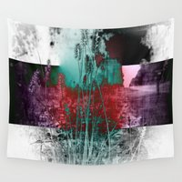 fringe Wall Tapestries featuring Life In The Fringe by Groovyal