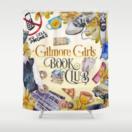 GG Book Club Shower Curtain