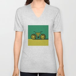 Abstract Cycle Unisex V-Neck