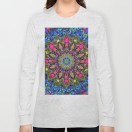 Abstract Flower AAA QQ Y Long Sleeve T-shirt
