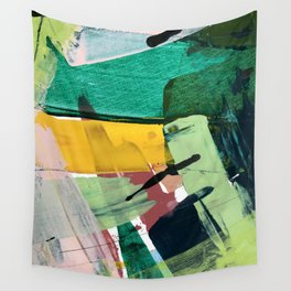 Hopeful[3] - a bright mixed media abstract piece Wall Tapestry
