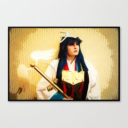The Warrior Priestess Canvas Print