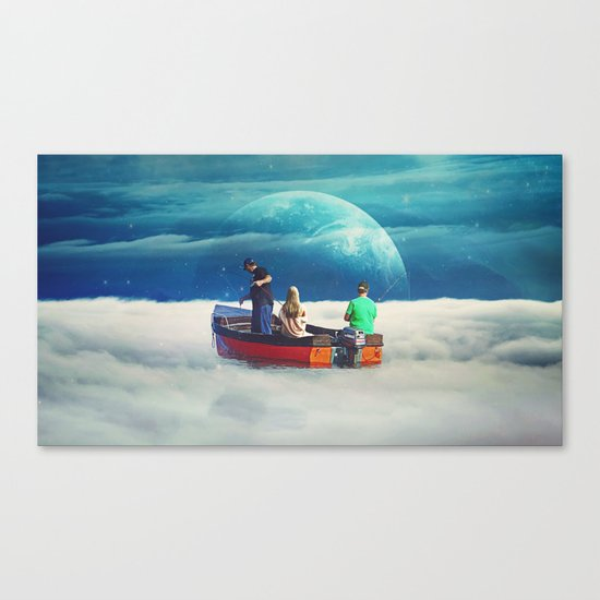 In The Same Boat Canvas Print