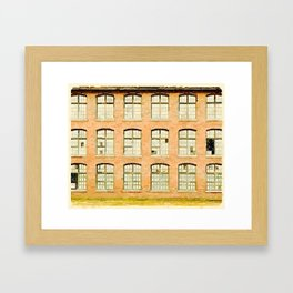 Factory, Maine Framed Art Print