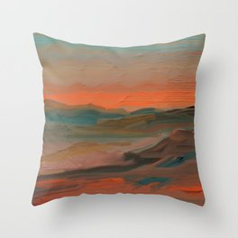 Southwestern Sunset Throw Pillow