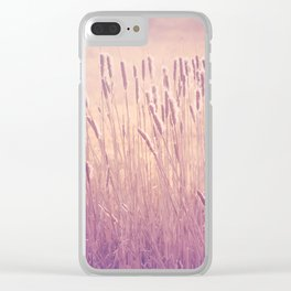 Summer's Coming Clear iPhone Case