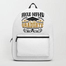 Proud Nephew Of The Graduate Backpack
