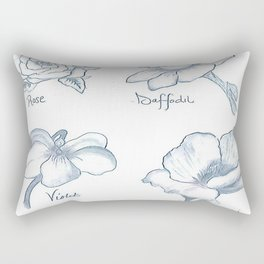 Flora Rectangular Pillow