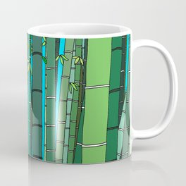 Bamboo Temple in Japan Coffee Mug