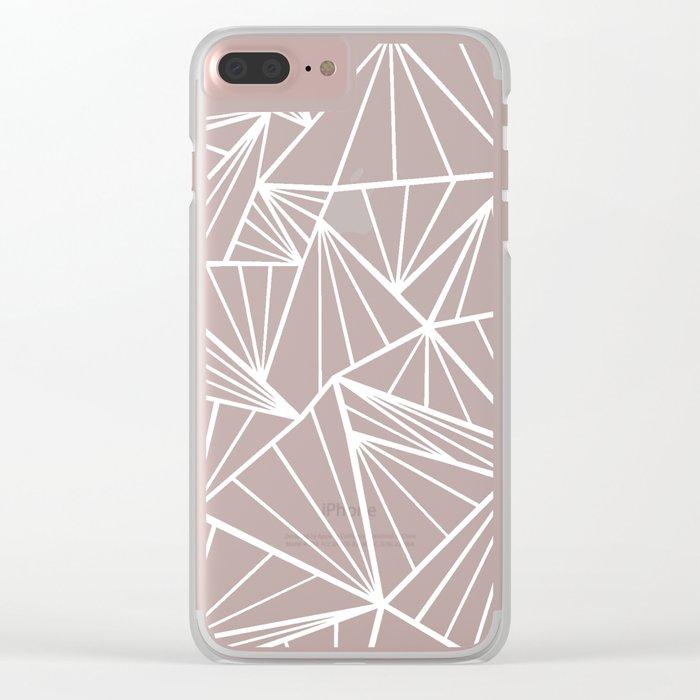 Ab Fan Zoom Clear iPhone Case