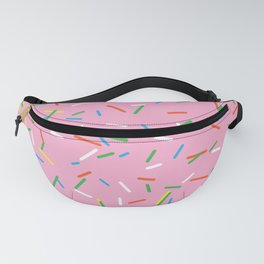 Pink Birthday Cake Sprinkles Fanny Pack