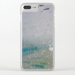 Sloppy Color Bubbles Clear iPhone Case