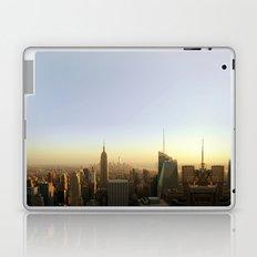 New York Skyline @ Dusk with Empire State Building Laptop & iPad Skin