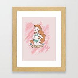 Mujeres Bellas y Fuertes Framed Art Print
