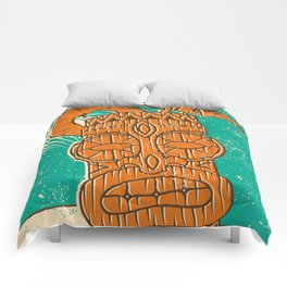 Tiki Cocktail Comforters