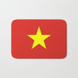 Vietnam Flag Bath Mat