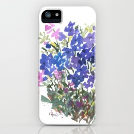 All The Blues iPhone Case