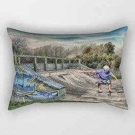Skate Park Rectangular Pillow