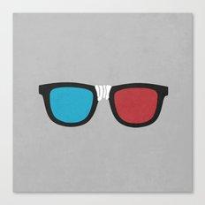 3D Geek Canvas Print