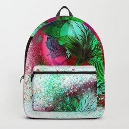 flower-orb#1 Backpack