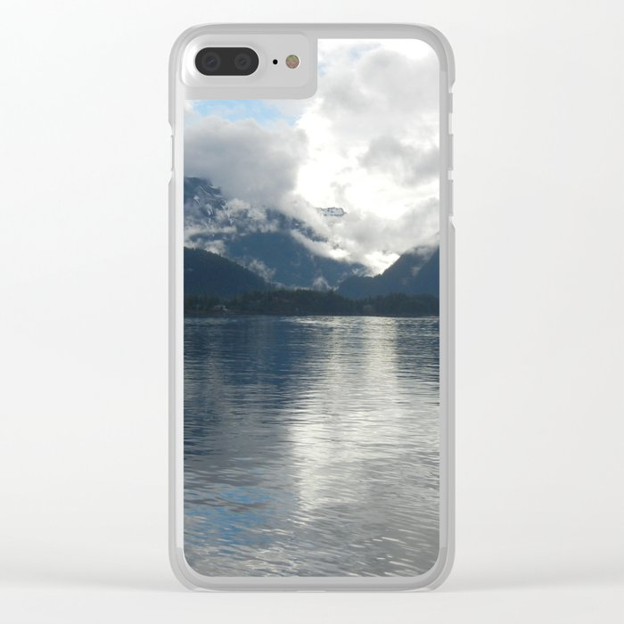 Sitka Sky Clear iPhone Case