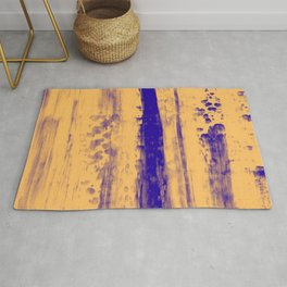 Gerhard Richter Inspired Abstract Urban Rain 4 Modern Art - Corbin Henry Rug