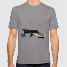 205 T16 X-LARGE Tri-Grey Mens Fitted Tee