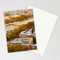 Paris Miniature (Tilt Shift) Stationery Cards