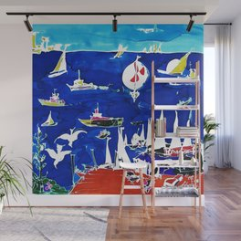 The Marina, Southport, Qld. AUSTRALIA Wall Mural