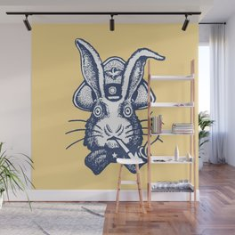 Captain Bunny Wall Mural