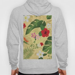 Tropical Flower Background 2 Hoody