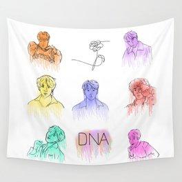 BTS- DNA Wall Tapestry