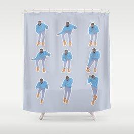 Hotline bling Shower Curtain