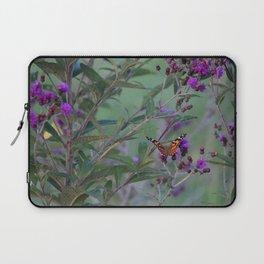 Butterfly Bush Laptop Sleeve