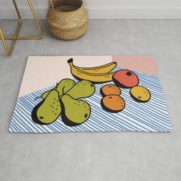 Fruit Still Life Rug