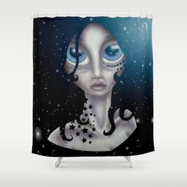 Star Child Shower Curtain