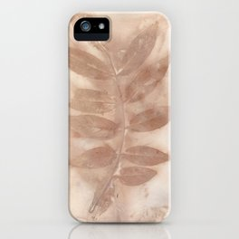 Leaves Left Behind iPhone Case