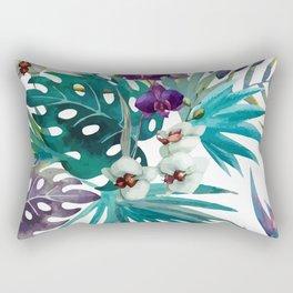 Tropical Floral Pattern 04 Rectangular Pillow