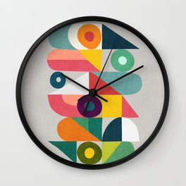 Tick Tock Machine Wall Clock