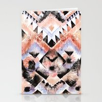 southwest Stationery Cards featuring Southwest Floral by Casey Saccomanno