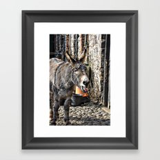 stick that in your pipe and smoke it!  Framed Art Print