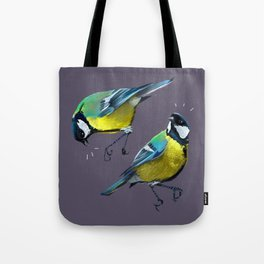 Great Tits Tote Bag