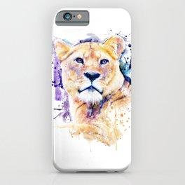 New Lioness Portrait iPhone Case