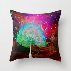 There - 049 Throw Pillow